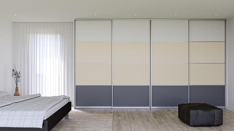 Vícebarevná skříň