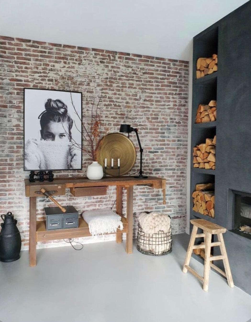 FOTOinspirace: TAKTO vypadá v interiéru nadčasová cihla