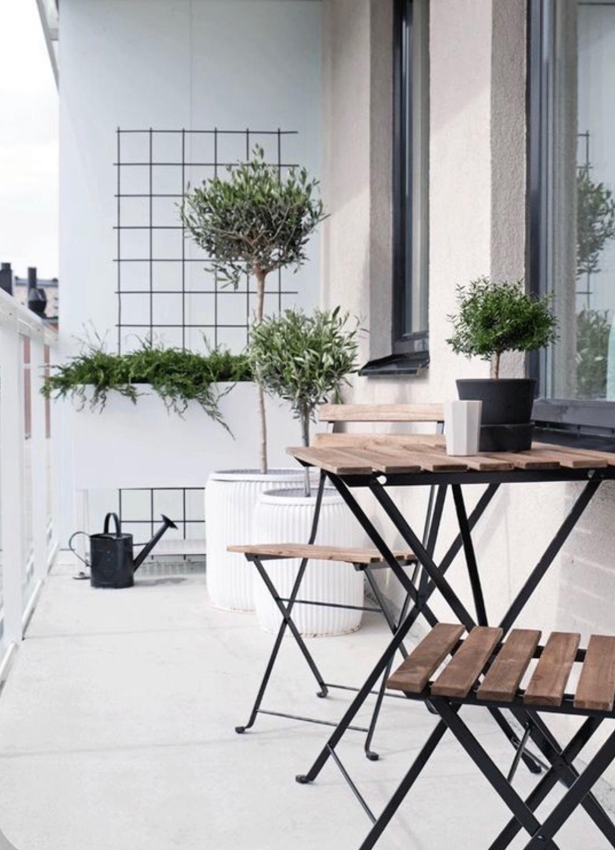 FOTOinspirace: Malý ale účelný? I takto může vypadat váš balkon